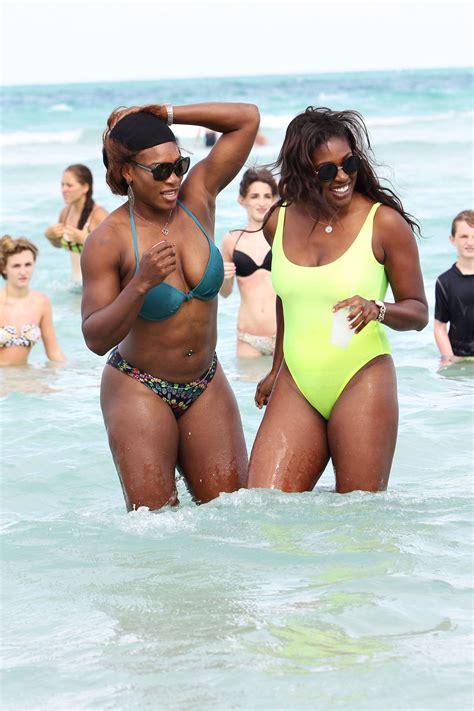 SERENA WILLIAMS in Bikini at a Beach in Miami – HawtCelebs