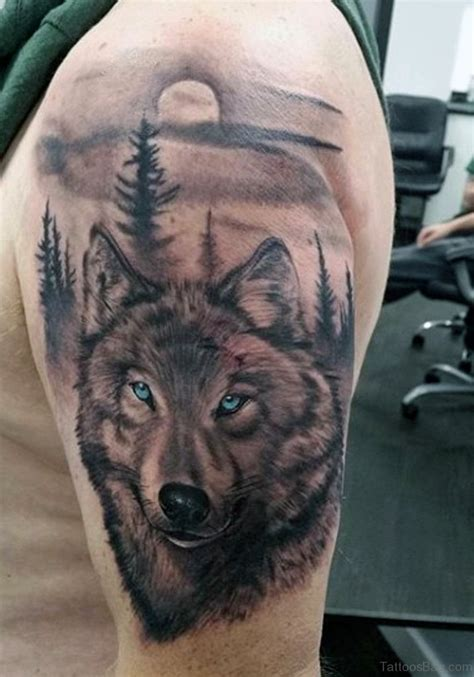 amazing wolf tattoos  shoulder