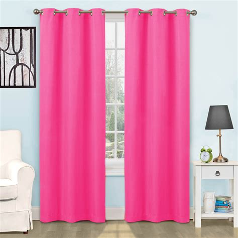 Blackout Curtains At Walmart by Eclipse Blackout Window Curtain Panel Walmart