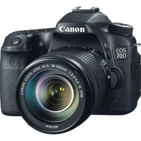 canon 70 d canon eos 70d dslr with 18 135mm f 3 5 5 6 stm 8469b016