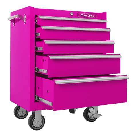 Pink Tool Box Dresser by The Original Pink Box Pb2605r 26 Inch 5 Drawer 18g