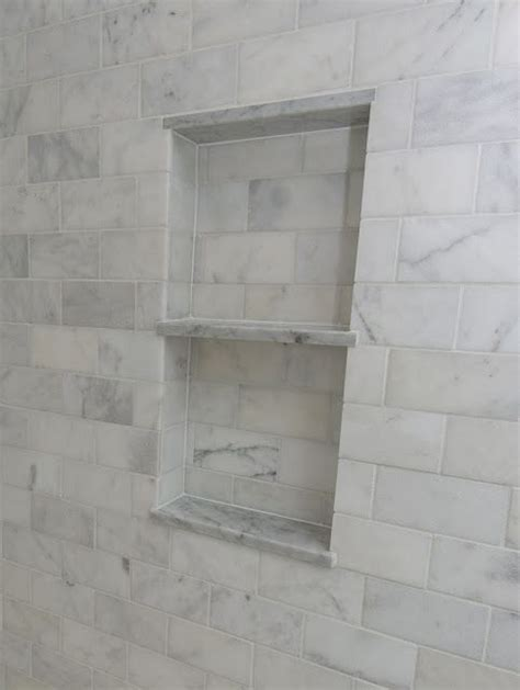 recessed shower shelf my baby pink girly bathroom