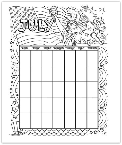 We have 10 cute designs for you to choose from. Free Printable Calendar Coloring Pages - Every Month, ANY Year