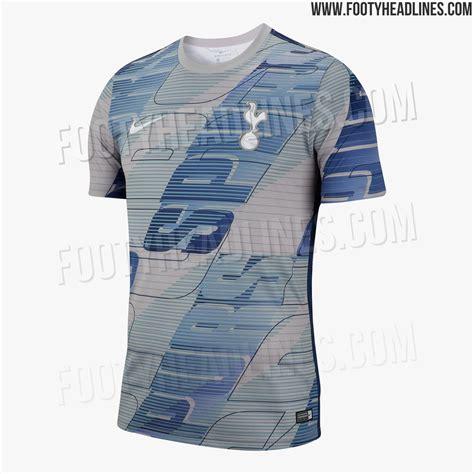 insane nike tottenham hotspur pre match shirt leaked footy