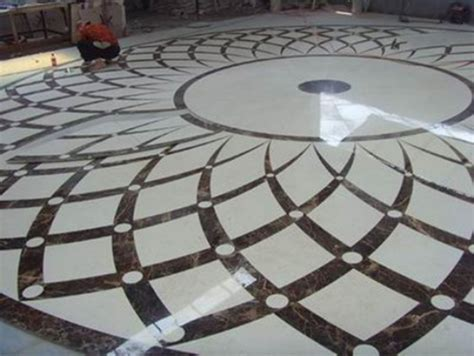 New Design Stone Marble Medallions Waterjet Pattern Design