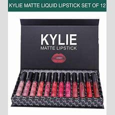 Kylie Matte Liquid Lipsticks Set Of 12 Buy Kylie Matte Liquid Lipsticks Set Of 12 At Best
