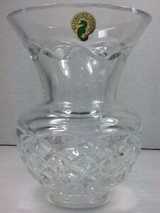Waterford Seahorse Vase by Signed Seahorse Waterford 6 Quot Kieran Pattern Flared