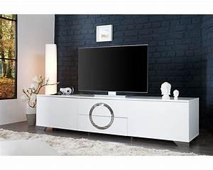 Tele 180 Cm : meuble tv petite largeur ~ Teatrodelosmanantiales.com Idées de Décoration