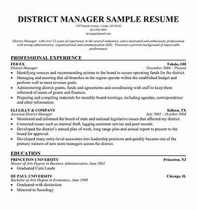 Best photos of regional manager cover letter sample for District manager resume template