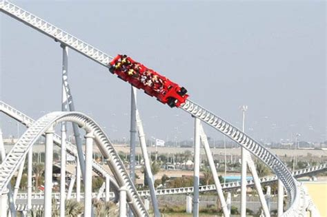 Formula Rossa Height by World S Most Terrifying Rollercoasters Theme Park Rides In
