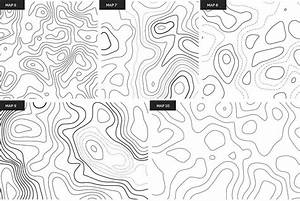 Topographic Maps Patterns  With Images