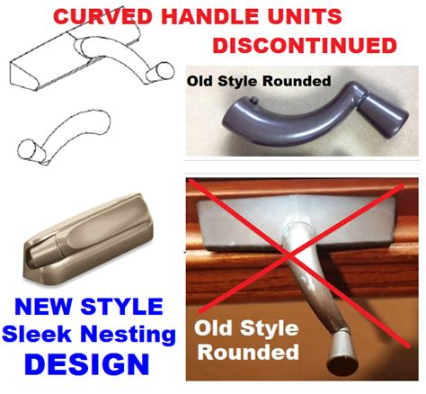 marvin casemaster  style casement window crank handle rounded curved  window door