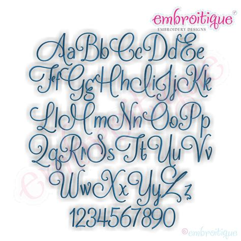 embroitique mallory monogram font set