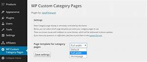how to easily create custom category pages in wordpress With wordpress custom category template