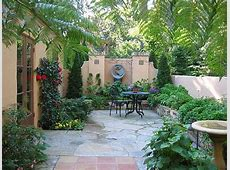 diy small patio makeovers Patio With A Lush Border