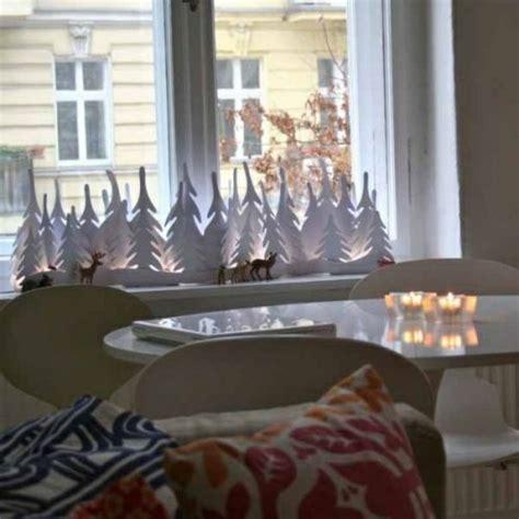 Fensterdeko Weihnachten Aus Holz by Kreative Ideen F 252 R Eine Festliche Fensterdeko Zu Weihnachten