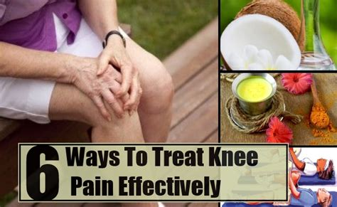 6 Best And Effective Ways For Knee Pain Treatments