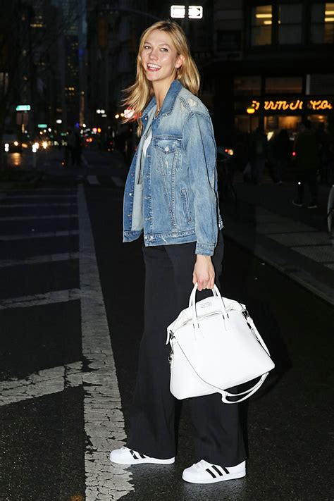 Karlie Kloss Street Style Out Nyc