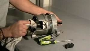 Cambio De Escobillas Motor Lavadora