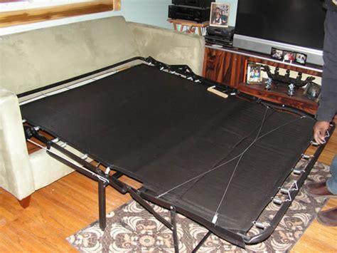 sofa bed deck replacement burkcraft furniture restoration repair