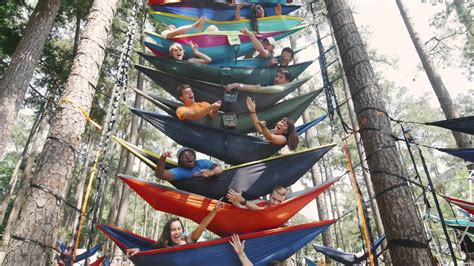 Eno Hammock Pictures by World S Largest Hammock In 4k