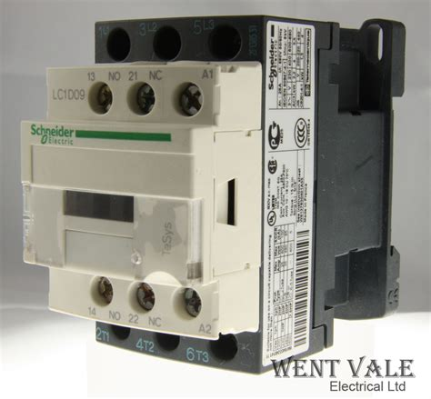 schneider tesys lc1d09 m7 25a 690v pole contactor 220vac coil used