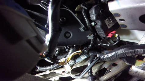 ford fusion hvac temp blend door actuator motor youtube