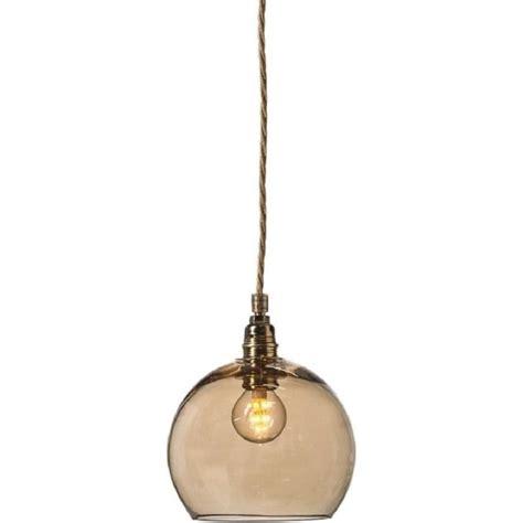 mini golden smoke glass globe hanging ceiling pendant