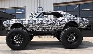 Gas Monkey U0026 39 S  U0026 39 67 Camaro Monster Truck Brings Monster Bucks