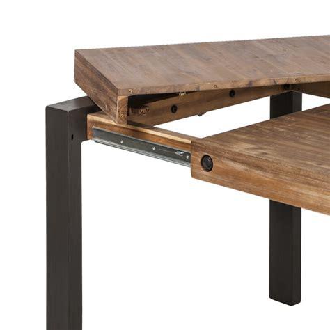 table de cuisine ronde avec rallonge table à manger manchester avec rallonge home24 fr