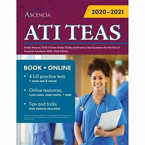 Ati Teas Study Manual  Teas 6 Exam Study Guide And