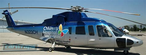 Children's Hospital Los Angeles Helicopter Custom Wrap ...