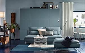 sejour de taille moyenne avec canape 3 places turquoise et With tapis de course avec canapé 3 et 2 places