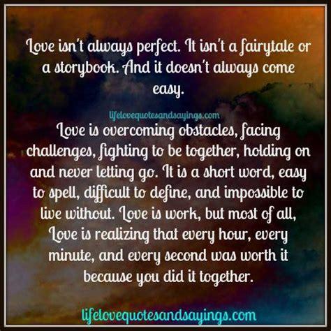 love isnt  easy quotes quotesgram