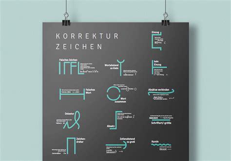 korrekturzeichen poster zum downloaden