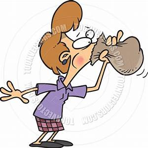 woman nervous clipart - Clipground