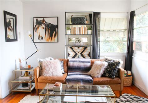 Tour A Western Modern Glam Living Room