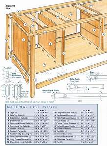 Cherry Sideboard Plans • WoodArchivist