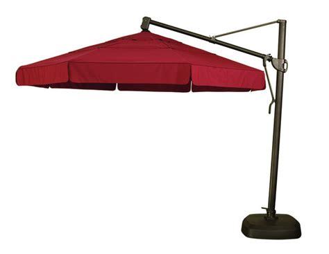 cantilever umbrellas gt 11 ft octagon cantilever umbrella
