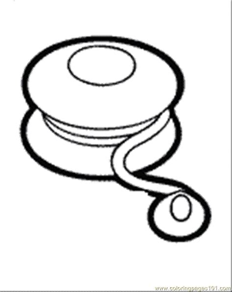 yoyo clipart black and white yoyo coloring pages 2
