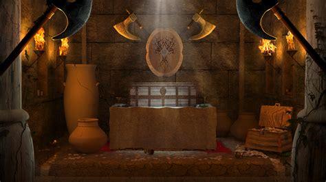 ArtStation - Viking Treasure Room, Mike Jensen