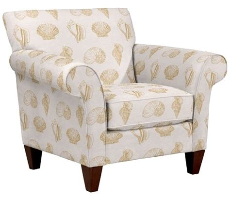 upholstered fabric accent chairs and ottomans by la