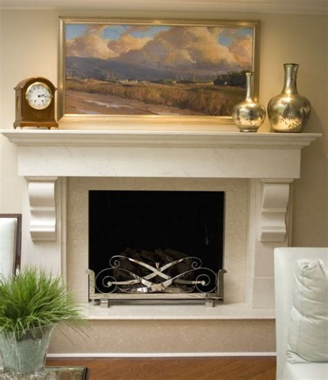 Fireplace Corbels by Fireplace Mantel Corbels Architectural Detail