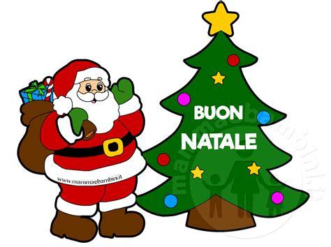Clipart Babbo Natale Disegno Babbo Natale Con Scritta Mamma E Bambini