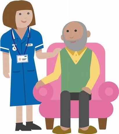 Nurse Cartoon Patient Community Clipart Transparent Clip