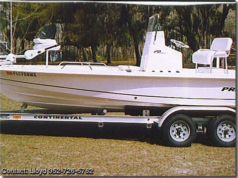Used Proline Bay Boats For Sale by 2005 Pro Line Bay Boat Pontooncats