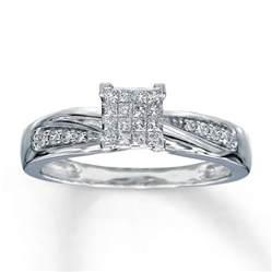 5 ct engagement rings engagement ring 1 5 ct tw diamonds 10k white gold