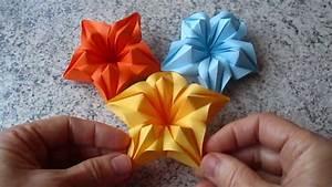 Origami Blumen Falten : blumen aus papier notizzettel selber falten youtube ~ Watch28wear.com Haus und Dekorationen