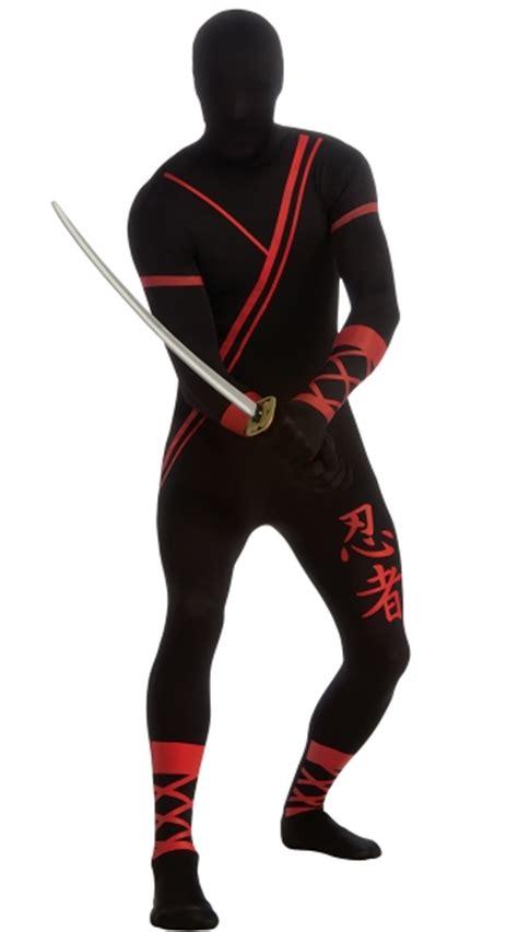 mens ninja morphsuit costume ninja  skin suit