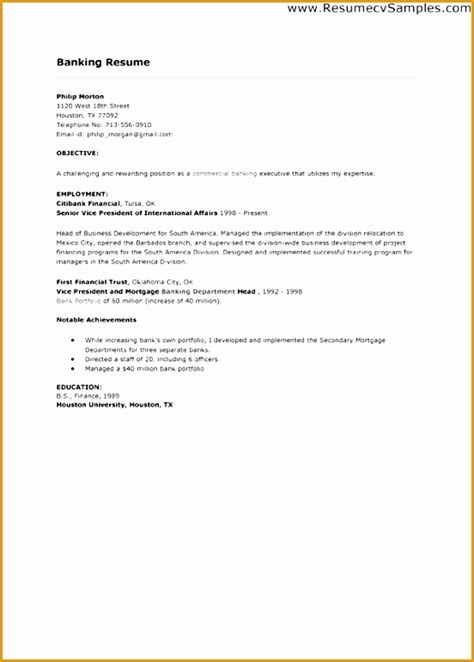 Cover Letter For Resume Exles by 7 Sle Cover Letter For Bank Teller Position Free